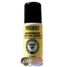 Водоотталкивающая пропитка для обуви Nikwax Black Aqueous Wax 125мл