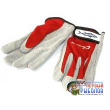 Перчатки Jigging Glove LL красный