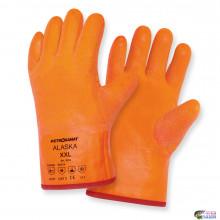 Перчатки рыб професс Petrokanat ALASKA оранж -30С ПВХ/латекс/х/б. 300мм р.3XL